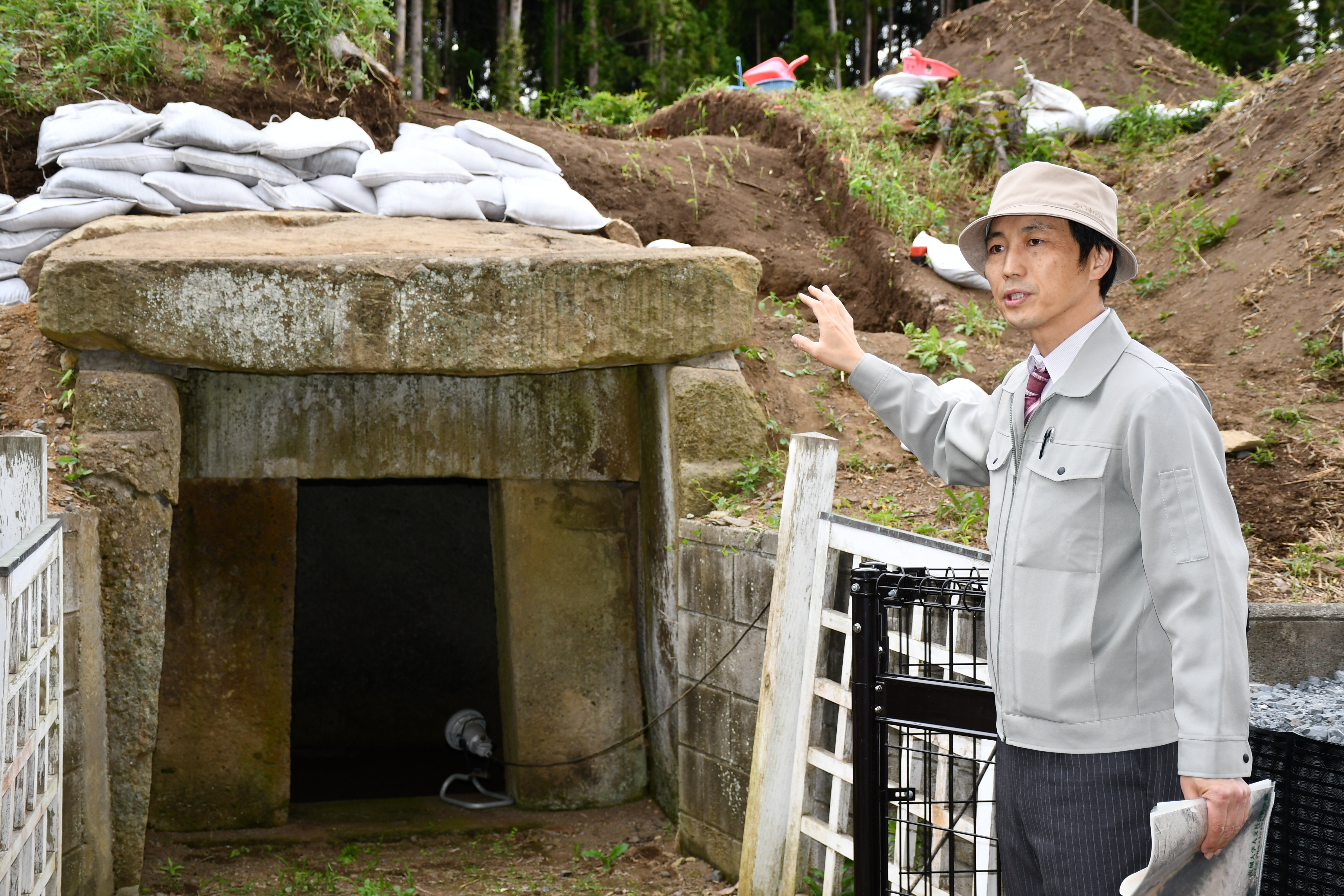 人文社会科学部・考古学研究室が手がける城里町・徳化原古墳の発掘調査 ...